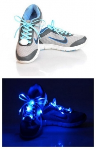 China sports products LED Flash Shoelaces on sale