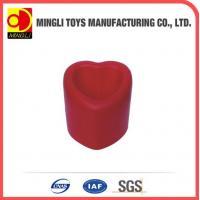 China PU Stress Toys PU soft pen holder heart shape on sale