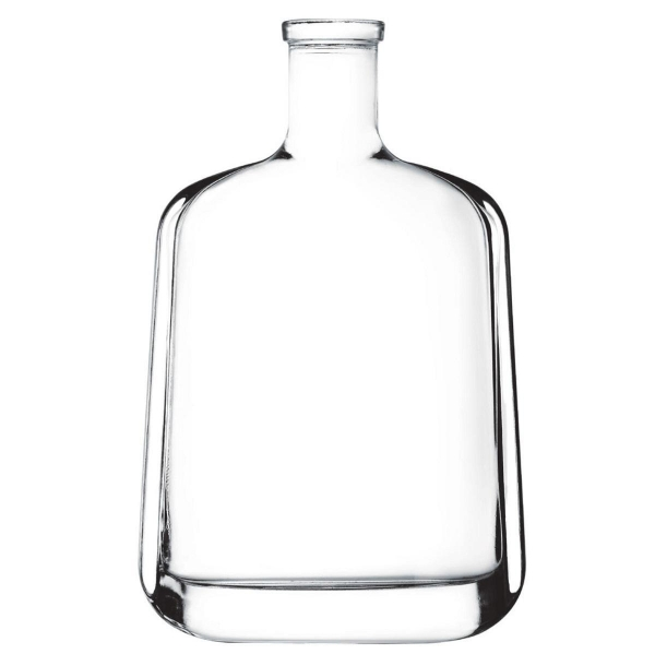 China Spirit Bottle Material: High White Glass