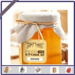 China New Design Adhesive Printed Honey Sticker Label for Glass Bottle on sale