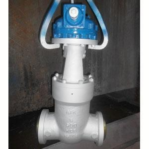 China Gear Operated Gate Valve, ASTM A216 WCB on sale