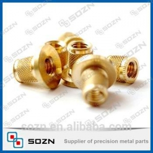 China high precision hat rim brass insert fitting, male and female brass fitting on sale