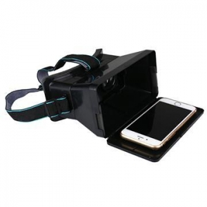 China Virtual Reality VR Headset 3D IMAX Video Glasses For iPhone 4 5S 6 6+ Samsung S6 on sale