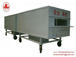 China Paste dumpling Processing Machine Coal-Fired Baking Oven on sale