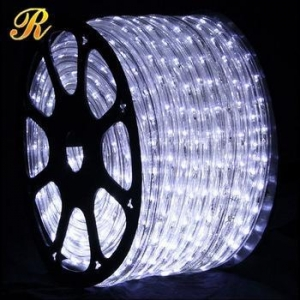 China Pure white Christmas rope lights outdoor on sale