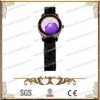 China IP Black And IPG Plating Stainless Steel And Black Ceramic Watch,Good For Gift for sale