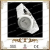 China Idiomatical ceramic watch with stainless steel snap fastener for sale