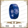 China Blue Faceted Ceramic Ring CMR-0066 for sale