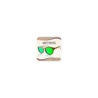 2015 new style round wood sun glasses polarized uv 400
