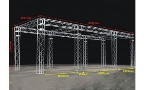 China Drawings Customized Stage Frame on sale