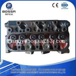 China Construction machinery parts Kubota engine cylinder head D1005 D1105 on sale