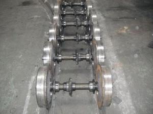 China rail wheelset for narrow gauge electric locomotives on sale