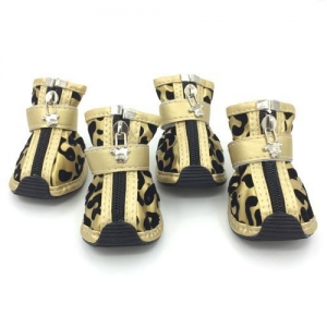 China Dog Shoes & Boots PU Dog Sneakers on sale