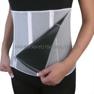 China Body Slimming Shapewear 5 zipper adjustable slimming belt waist shaper on sale