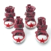 China Dog Shoes & Boots Star Sneaker Dog Shoes for sale