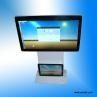 China floor stand double screen touch screen kiosk on sale