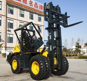 China Forklift Rough Terrain Forklift on sale