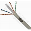 China Lan Cable Cat.6 SFTP cat.6, 23 AWG solid BC, PVC jacket for sale