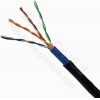 China Lan Cable Cat.5e UTP CAT.5E, 24 AWG solid CCA for sale