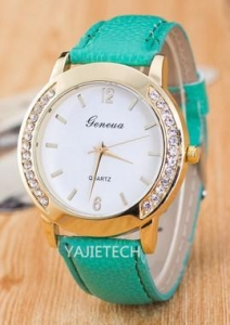 China YJ70 brand geneva diamond ladies watch on sale