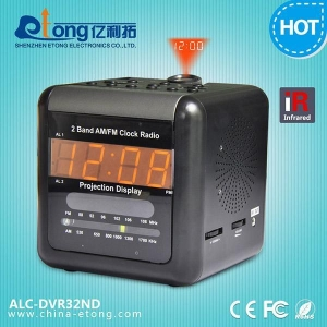 China Dual Band Alarm Clock Hidden Camera with D1 10S Pre-record Motion Activated DVR on sale