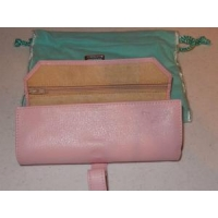 Leather Case leather jewelry travel case Jewelry Case THD-02
