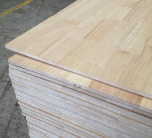 China Rubber Wood Finger Joint Board on sale