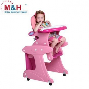 China Plastic Baby HighChair 3 IN 1 Multifunctional Highchair Child dinner Chair with Rocker on sale