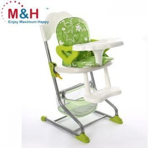China Baby High Chair Adult Chair 2 IN 1 steel kid high chair on sale