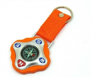 China Travel Compass With Key Ring on sale
