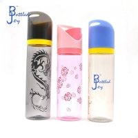 China BPA Free Water Bottle wholesales custom plastic eco friendly water bottles with different colors on sale