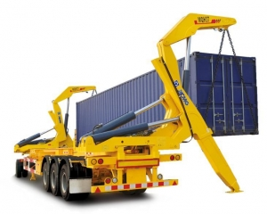 China Container Loader Semi Trailer on sale
