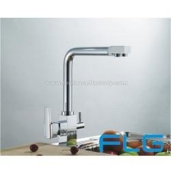 China Dual handles water purifier kitchen faucet on sale