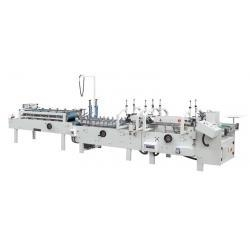 China HL-SHH-A Pre-folded full automatic paste box machine on sale