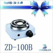China 300W-500W Electric Stove environmental A15 battery powered hot plate on sale