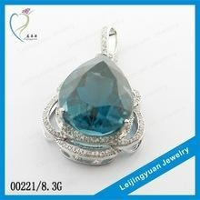 China value 925 sterling silver jewelry wholesale pendant on sale