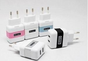 China Chargers Item NO.:BE-IPUT0520 Product MINI Dual USB AC adapter Introduction on sale