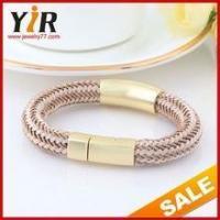 Eurpean style handmade bangles breast cancer awareness bracelets