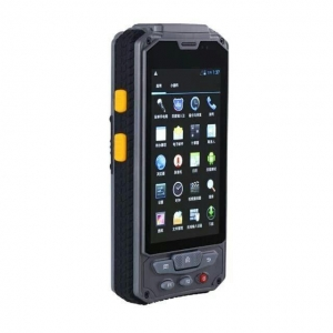 China Handheld 1/2D Scanner Android 4.3 inch Handheld Mobile computer on sale