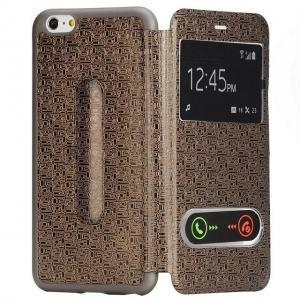 China High-end elegant bracket leather case for iphone 6 and plus on sale