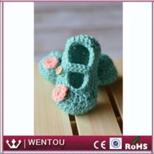 China Free Crochet Pattern Baby Booties on sale