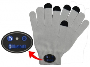 China Wireless Bluetooth Call Touch Screen Gloves Mic Headset For iPhone Smart Phone on sale