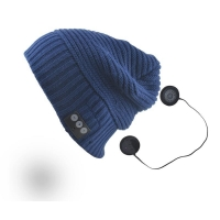 China Wireless Music Bluetooth Beanie Hat with Handsfree & Headset: iPhone & Android on sale