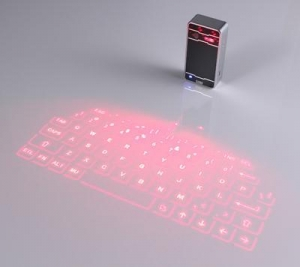 China Wireless Laser Projection Keyboard with Bluetooth connection on sale