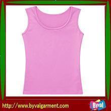 China Tank tops/Vest Wholesale women's cotton custom plain tank top, women's underwear on sale