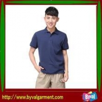 Custom Plain Summer Short Men Polo Shirts for Promotion
