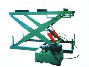 China Single Side Hot Press Hydraulic Lifter Table on sale