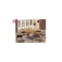China Quaint dining chair and table wood dining furniture on sale