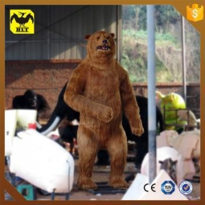 China HLT life size robotic bear statue on sale
