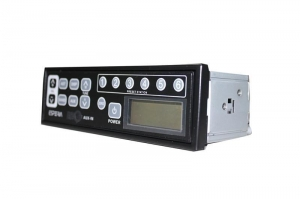 China Excavator Radio Universal 24volt excavator radios for Kobelco/Komatsu/Hitachi/Sumitomo KRH-M99 on sale